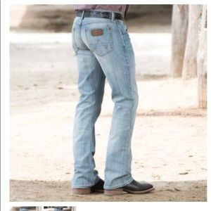 Men's, WRANGLERS, 36 x 36. Slim boot cut. Retro